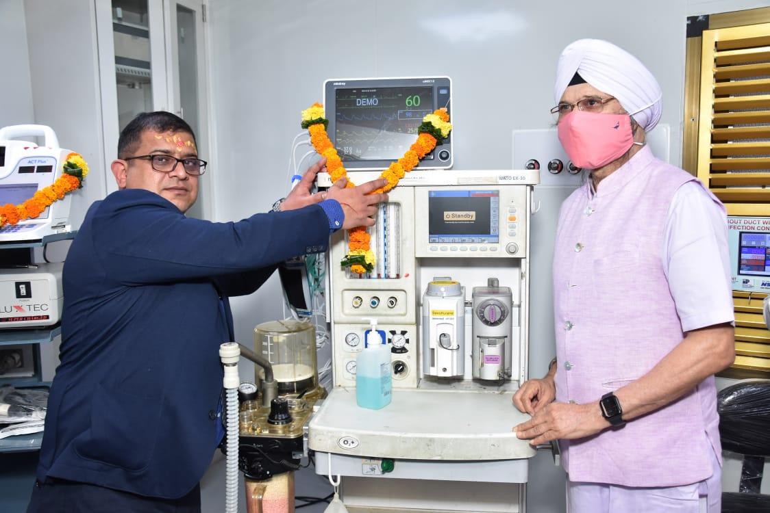 Cardiac OT inaugration 21st Century Hospital